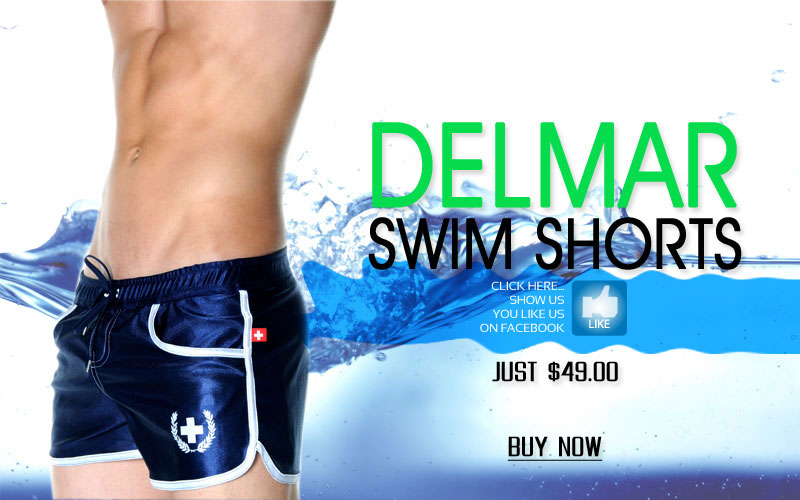 Andrew Christian Delmar Swim Shorts Now Shipping, Just $49