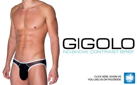 Andrew Christian Gigolo No-Show Contrast Brief - Just $23