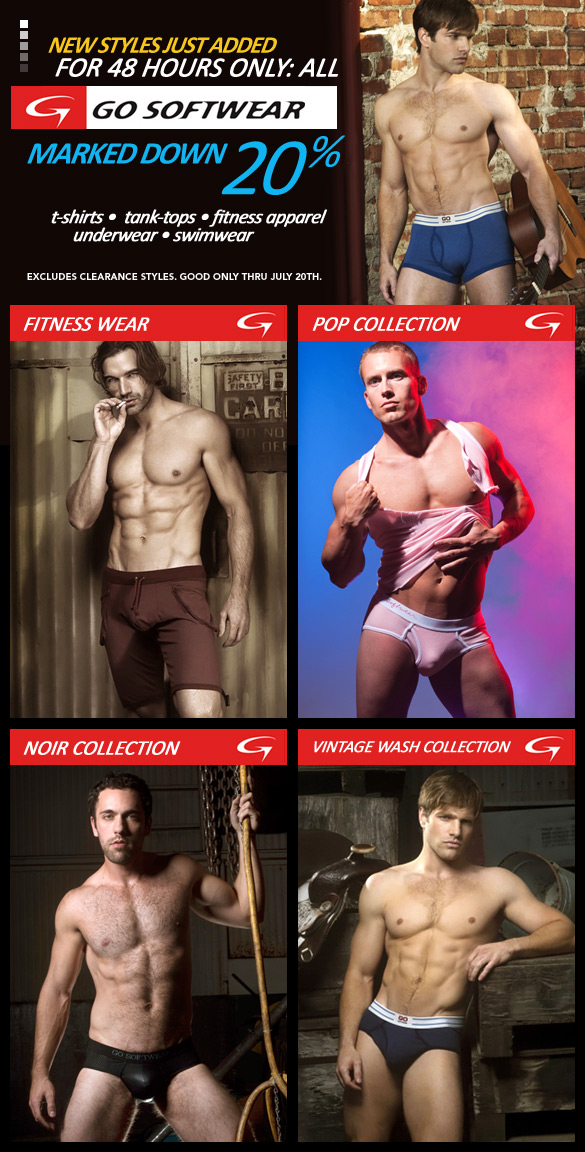 New Go Softwear Marked Down 20%: 48 Hours Only at 10percent