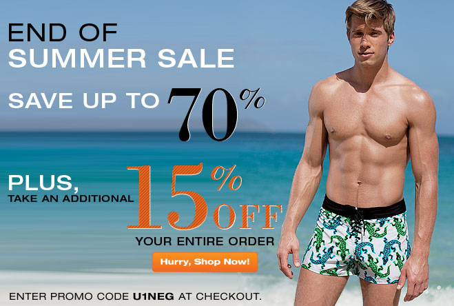 UnderGear End of Summer Sale