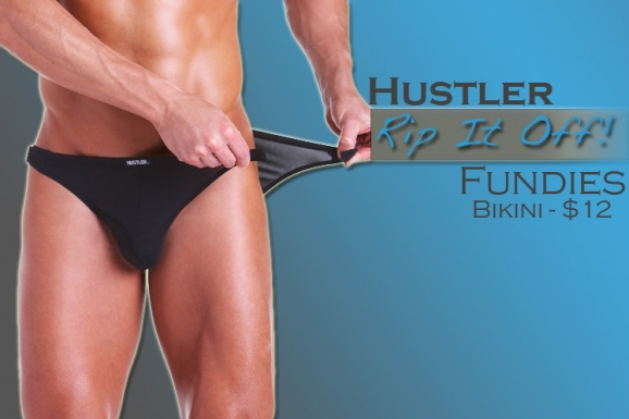 Rip It Off by Hustler Fundies at His Trunks