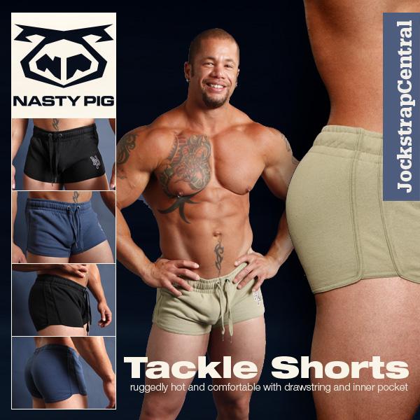 Nasty Pig Tackle Shorts Arrive at Jockstrap Central