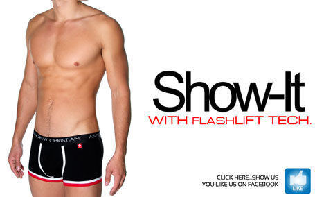 Andrew Christian Show-It FlashLIFT Pro Boxer - Just $32