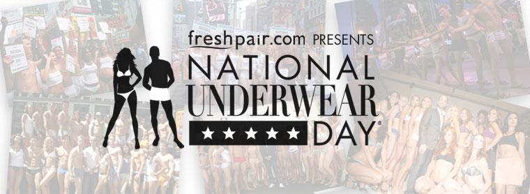Belated National Underwear Day!