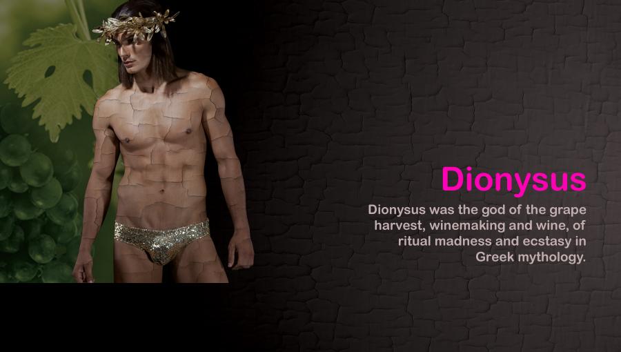 Zeus and Dionysus from Modus Vivendi underwear
