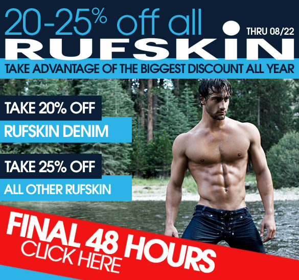 Save Up To 25% On Rufskin Brand at 10Percenct.com