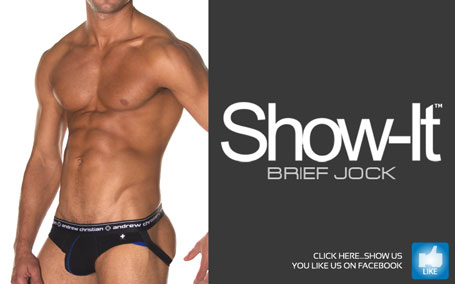 Andrew Christian's New Show-It Brief Jock - Just $23