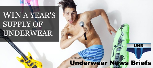 Win undies for a Year!