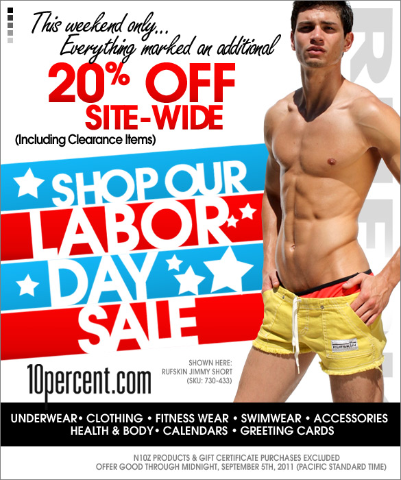 20% off Site Wide at 10Percent.com