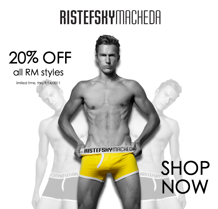 20% Off Sitewide Sale for Ristefsky Macheda