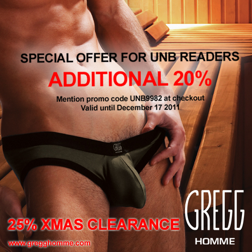 Gregg Homme Exclusive for UNB Readers