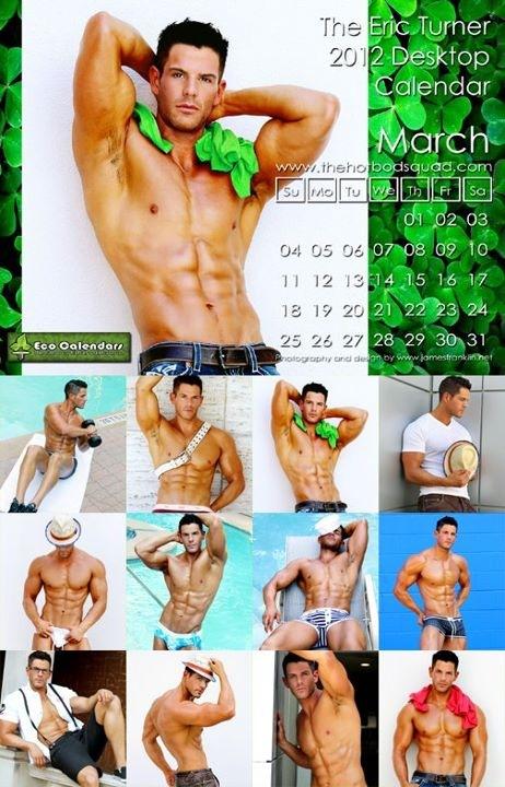 Eric Turner 2012 Calendar