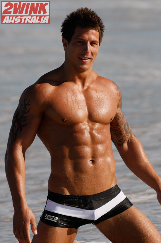 British Fitness Model Lee Stram Takes Australia By Storm in New 2wink Australia Swimsuit Campaign