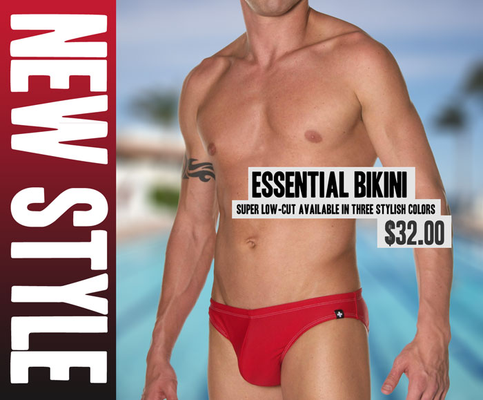 Style Brief - Andrew Christian Essential Bikini