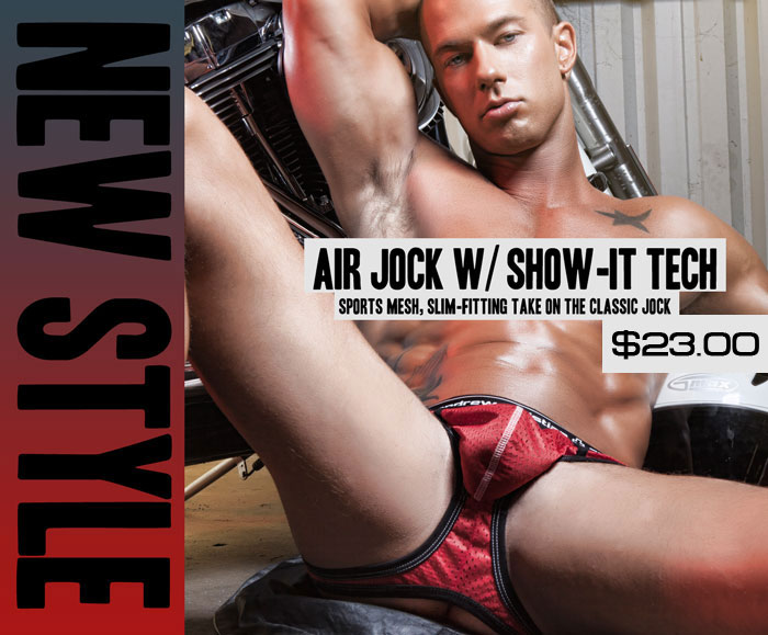 Style Brief - Andrew Christian Air Jock with Show-It Tech