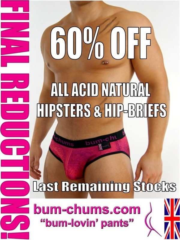 Bum-Chums is Giving you 60% Select styles