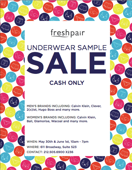 FreshPair.com Memorial Day Sale and NYC Sample Sale