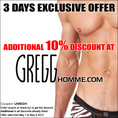 Gregg Homme UNB Only Sale