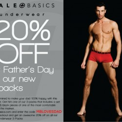 MaleBasics 20% off Sale