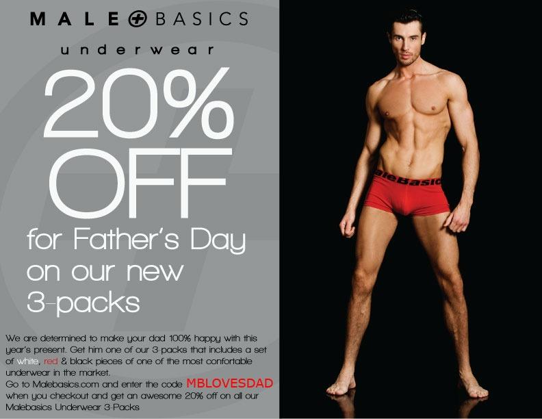MaleBasics 20% off Sale