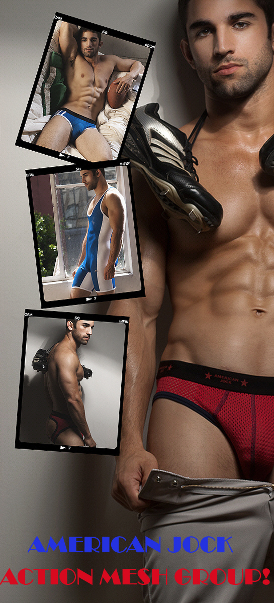 New American Jock Action Mesh from Go Softwear
