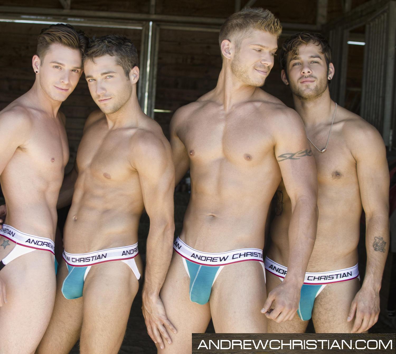 Andrew Christian-All American Farm Boys