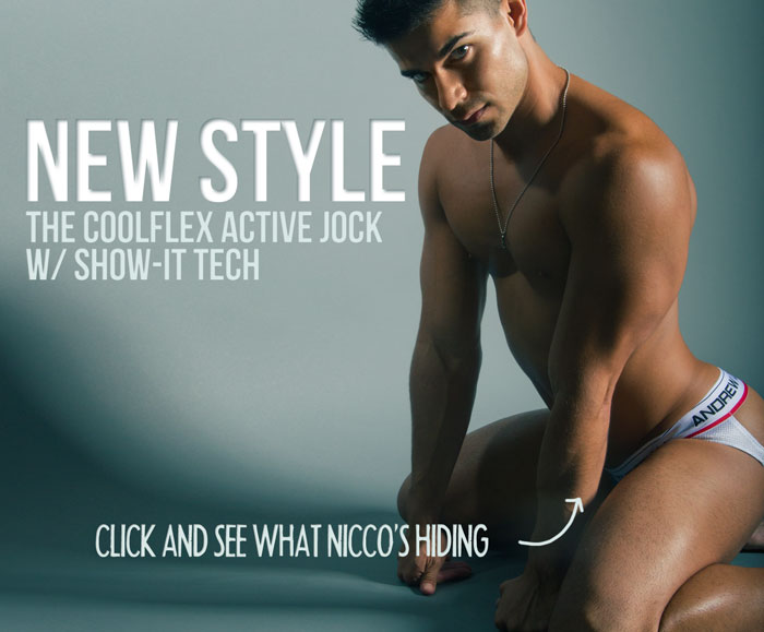 Style Brief - Andrew Christian CoolFlex Active Jock with Show-it!