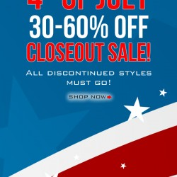 30-60% OFF – 4th of July Closeout Event at Skivies
