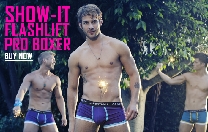Style Brief - Andrew Christian Show-it Flashlift Boxer