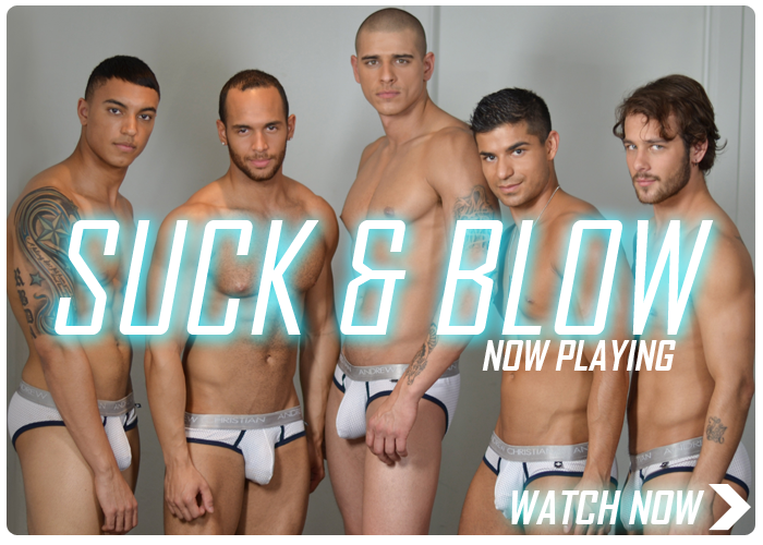 New Andrew Christian Video - Suck & Blow
