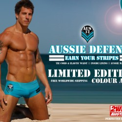 2wink Australia Releases Limited Edition AQUA Color  For AUS12 Swimwear Range