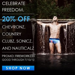 CELEBRATE FREEDOM – SAVE 20% ON SELECTED STYLEZ at Skmpeez