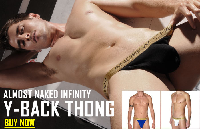 Style Brief - Andrew Christian Almost Naked Infinity Y-Back Thong