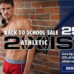 Men's Underwear Store 2(x)ist Athletic Sale