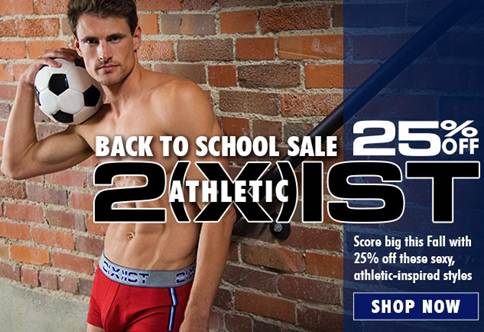 Men's Underwear Store 2(x)ist Athletic Sale
