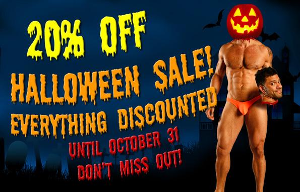 20% OFF Cocksox® Halloween Sale!