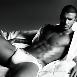 DAVID BECKHAM the face of a new culture of underwear-consciousness