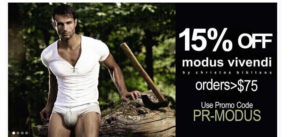 Save on Modus Vivendi At Premium Underwear Store