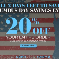 Save 20% off your Order at UnderGear