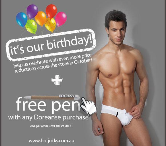 Hot Jocks Celebrates One Year!