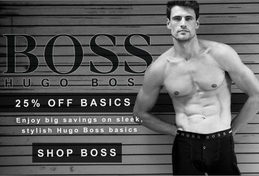 Hugo Boss on sale at Men's Underwear Store
