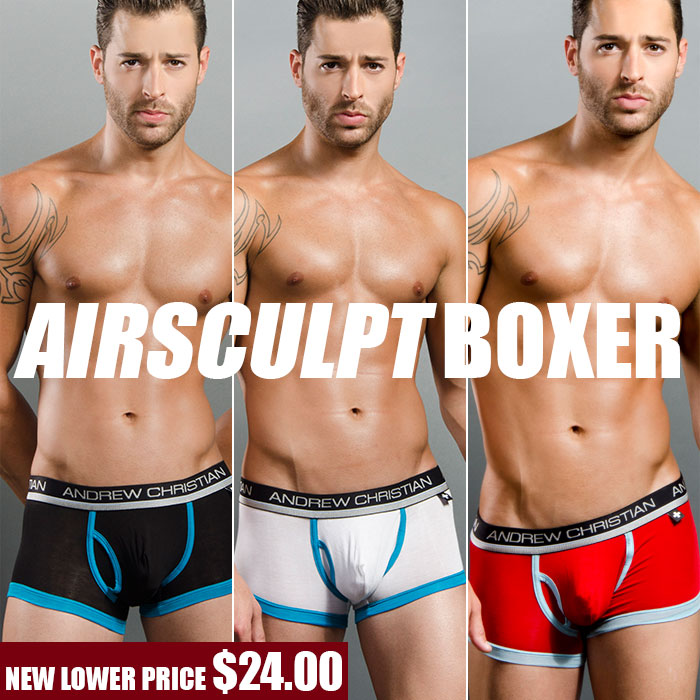NEW LOW PRICE! AirSculpt Boxer from Andrew Christian