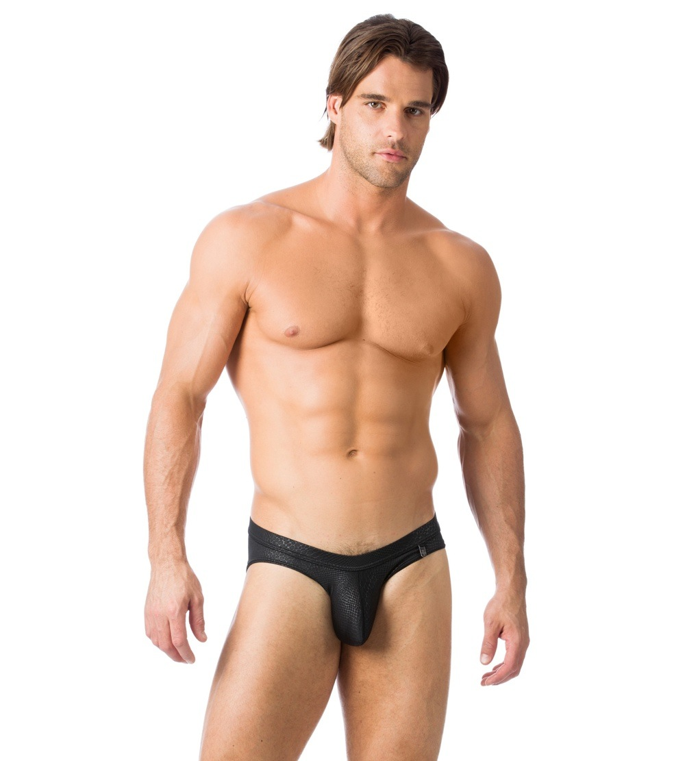 Men in black briefs pictures — img 1