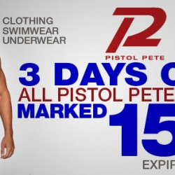 Pistol Pete 15% Off at 10Percent.com