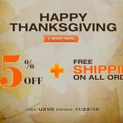 UnderGear Thanksgiving Sale