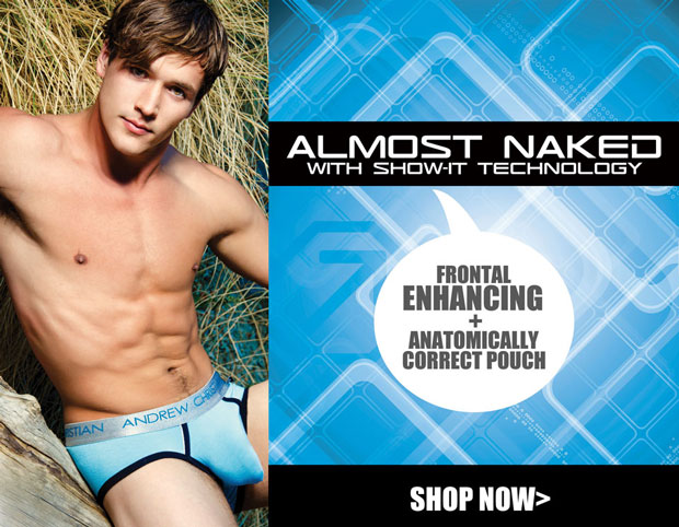 Style Brief: Andrew Christian Almost Naked Brief with Show-It Technology