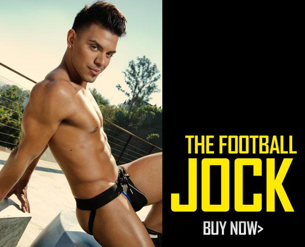 New Andrew Christian Football Jock