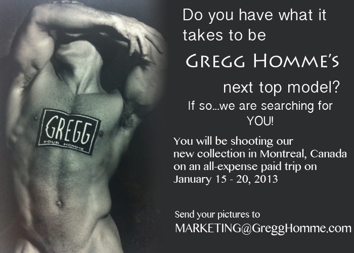 Gregg Homme's Model Search