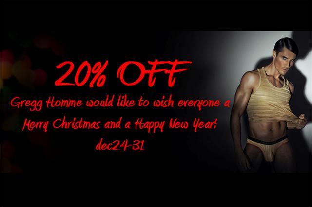 Gregg Homme 20% OFF CHRISTMAS SALE