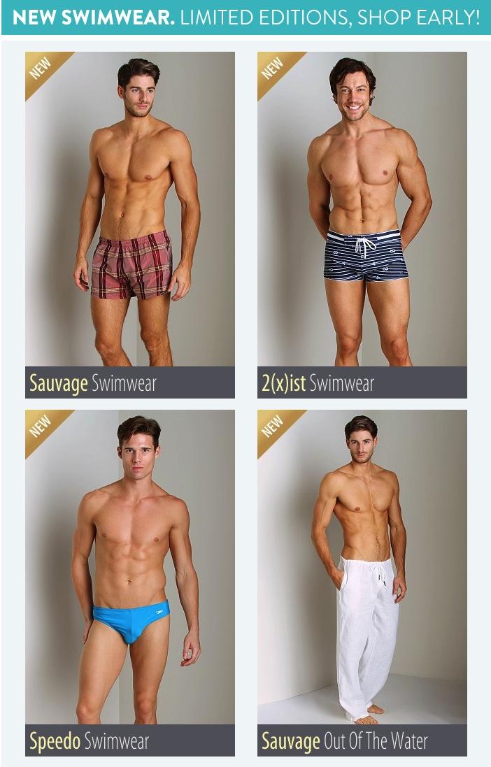 New Swimwear at Internaitonal Jock